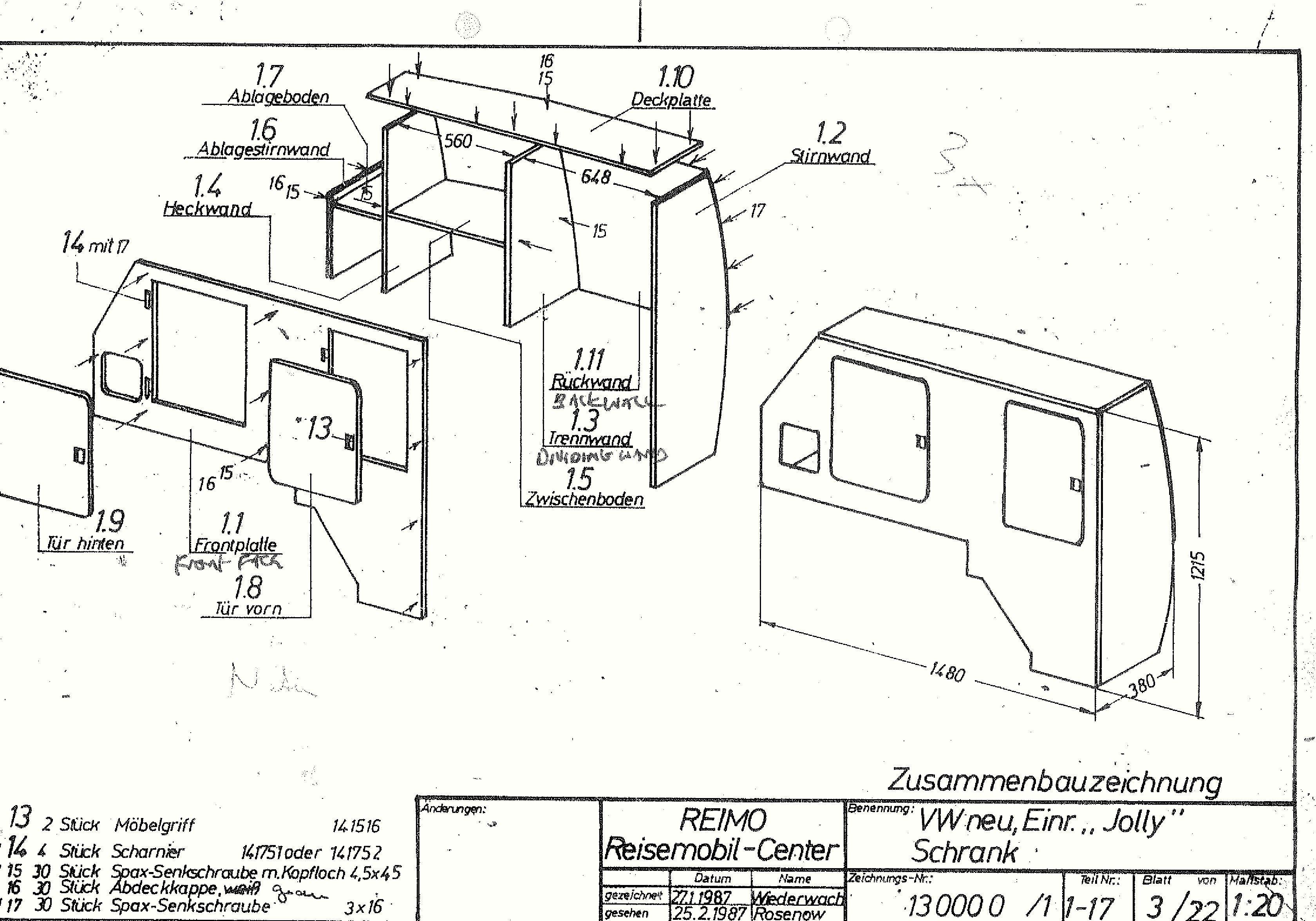 Interior Conversion Tech Drawing 4