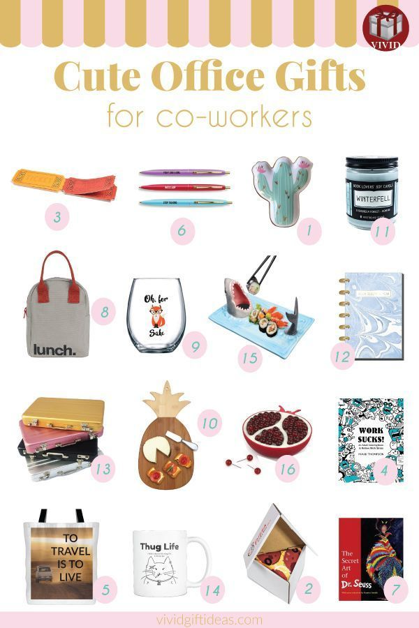 Holiday Gift Guide: Best Christmas Gifts for Coworkers 2019 #coworkerchristmasgiftideas Holiday office gift ideas. Creative Christmas gifts for coworkers and employees. #christmasgiftsforcoworkers