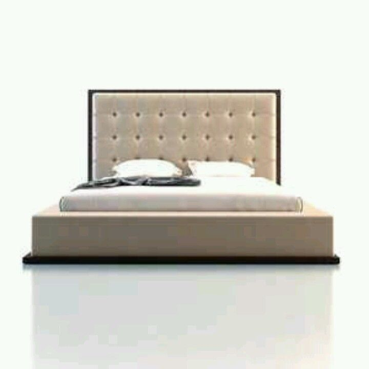 Modern Platform Bed, Bed, Upscale