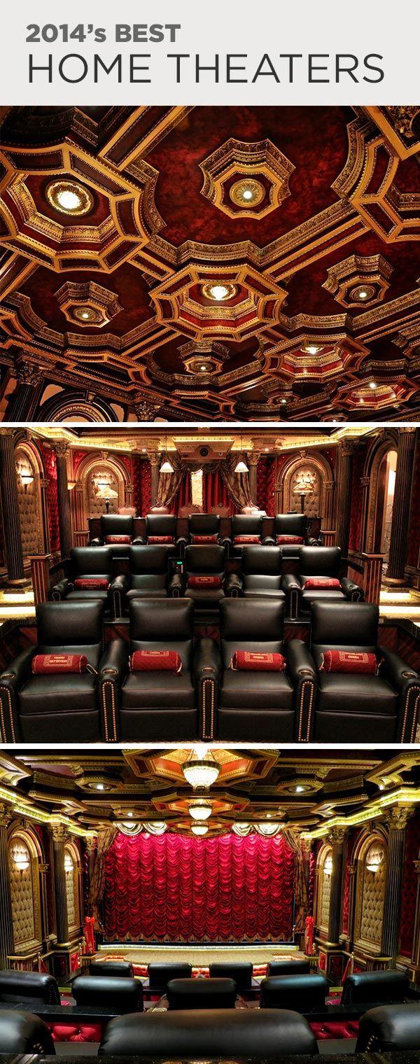 Home Theater Rooms, Home Theater, Home Theater