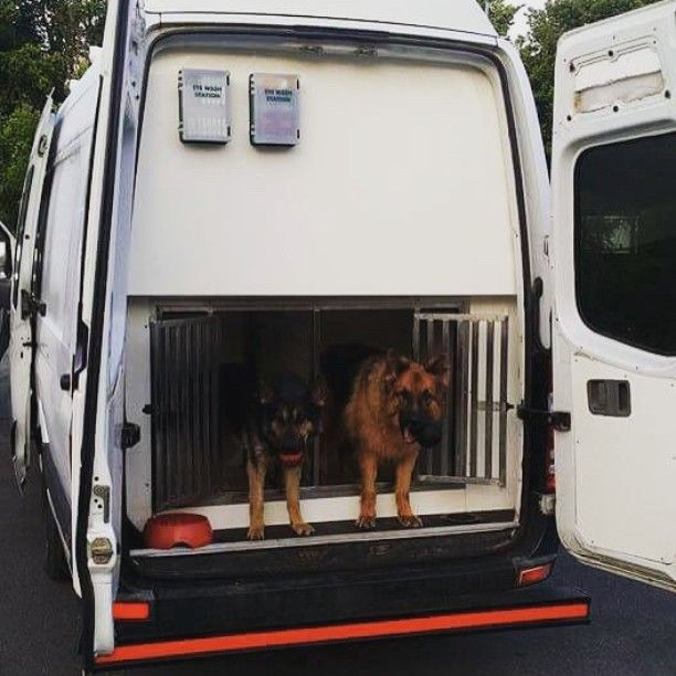 Mercedes Sprinter Dog Van Conversion We Fitted Out Earlier In The Year Patroldog