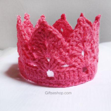 Crochet Crown Pattern Knit Crochet Headwear Pinterest