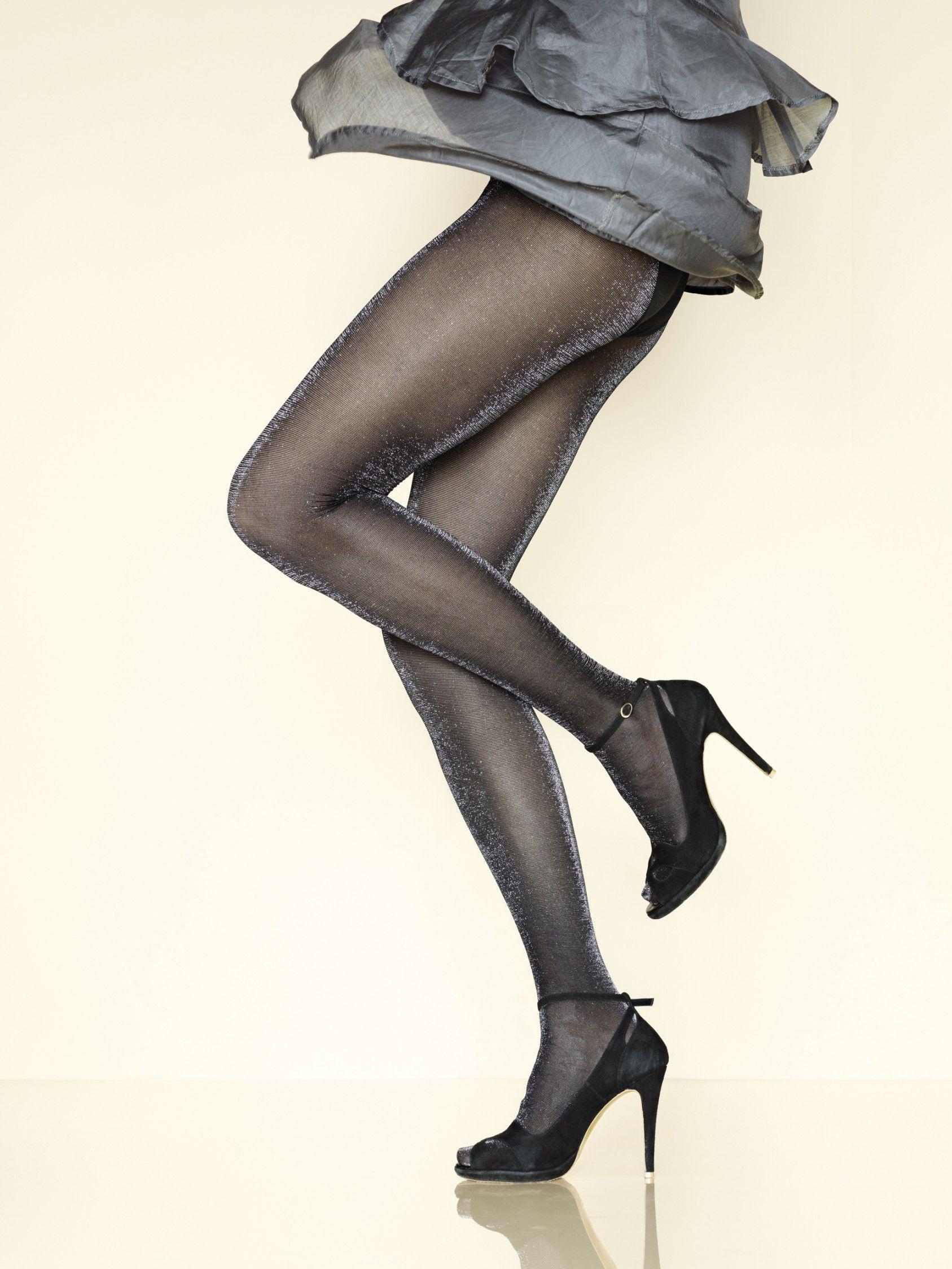 collant opaque shhrazade noir argent de chez gerbe with collant opaque noir 561d76594e0