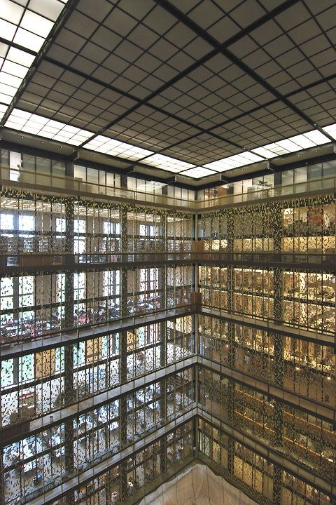 Elmer Holmes Bobst Library At New York University (New York, NY, USA)  (Photo: David W. Dunlap/The New York Times ...