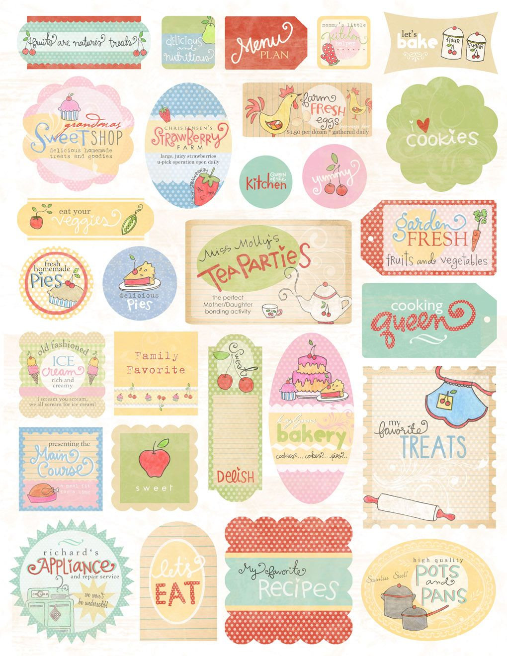Scrapbook paper cooking - New This Week At Anchor Paper Express Melissa Frances Kitschy Kitchen We Got In 6 X 6 And 12 X 12 Paper Pads Recipe Cards Homemade And R
