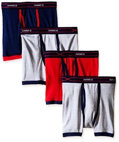 070d9896c7 Underwear 51973: Hanes Girls 7-16 Underwear - Bx6rp4 Toddler Boys 4-Pack  X-Temp Ringer -> BUY IT NOW ONLY: $30.59 on eBay!