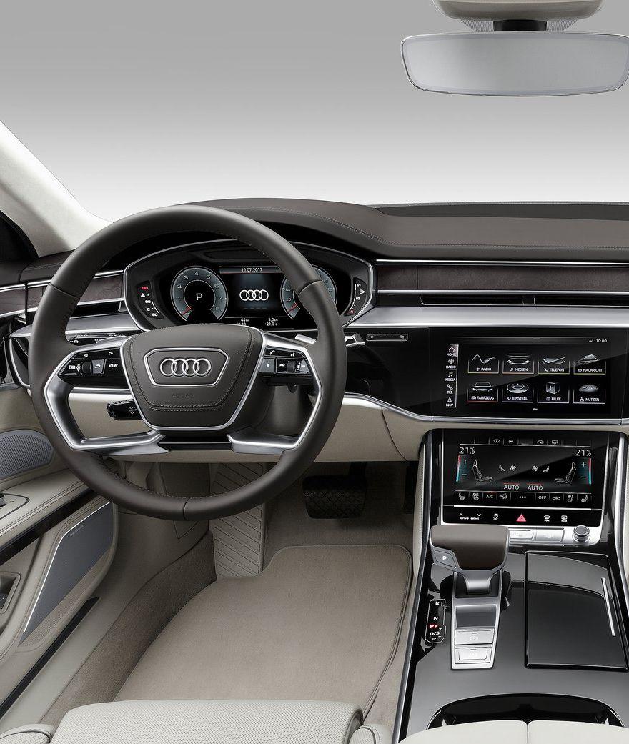 2018 Audi A8 L UI-UX Design New Screen