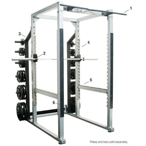 York Barbell 54003 Reverse Safety Spot Arms, Black, As