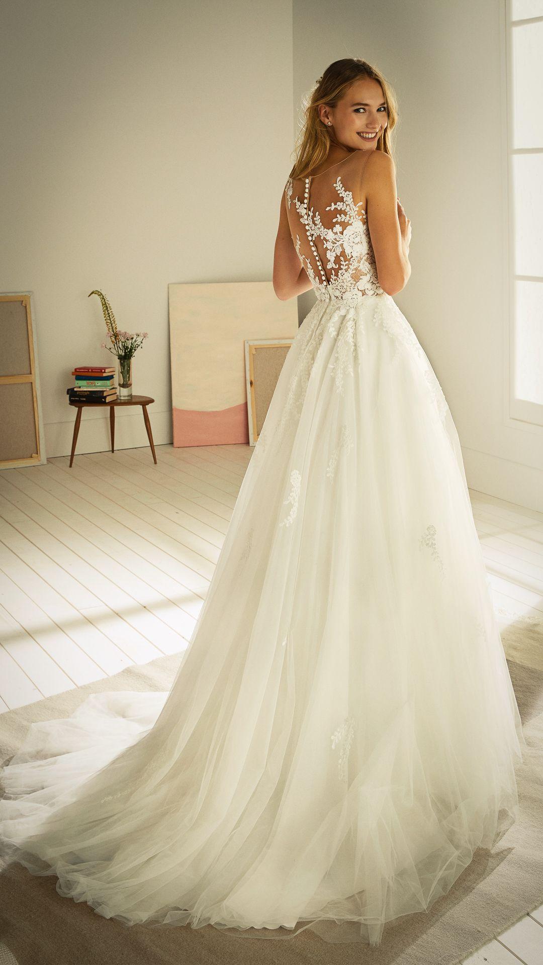 Hochzeitskleider 200 White One Kollektion Modell: OROPESA-C-20