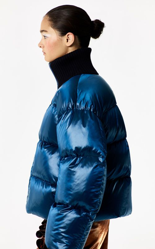 ff6630d5b3 NAVY BLUE 'Holiday Capsule Collection' Puffa Jacket for women KENZO ...