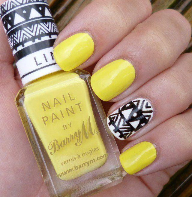 15 Lindos Diseños de Uñas en color Amarillo para el Verano | Diseños ...