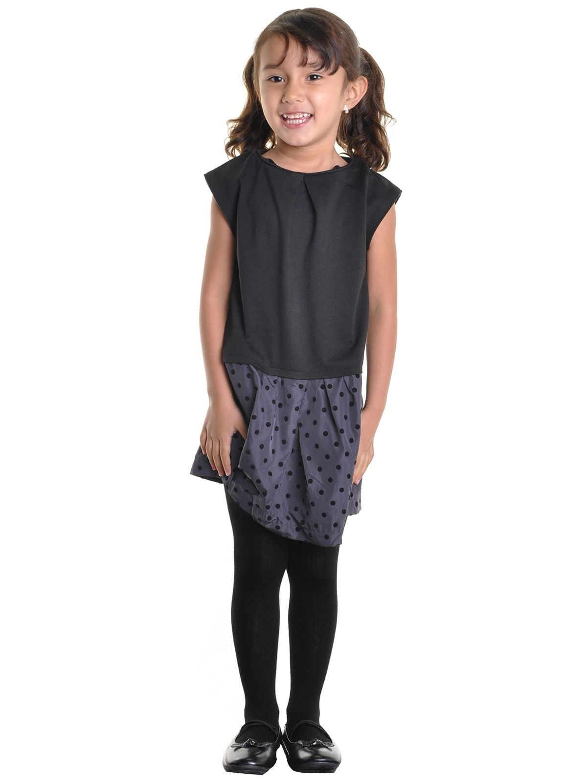 e8e2aecbc Angelina Girls Winter Tights with Heel (6-Pack) Winter