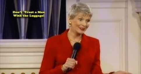 Wondrous Jeanne Robertson Dont Trust A Man With The Luggage Gmtry Best Dining Table And Chair Ideas Images Gmtryco