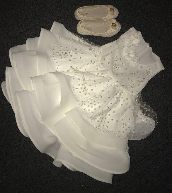 Шикарное платье для маленькой девочки-7 В платье три юбки ...