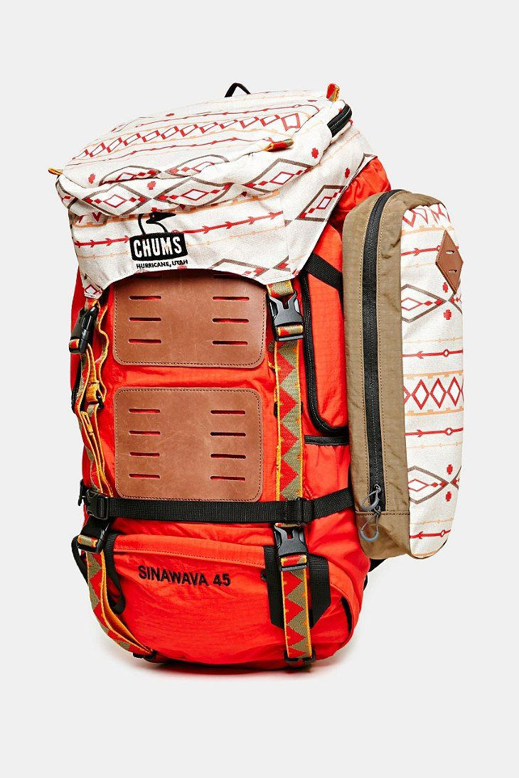 Chums Sinawava 45 Backpack Urban Outfitters Backpacks Outdoors Adventure Adventure Gear