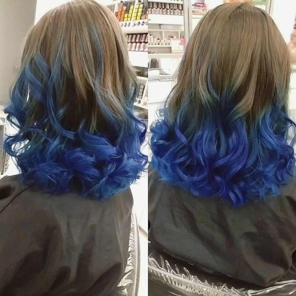 Pin By Caroline Elise On Beauty Blue Tips Hair Light Hair Color