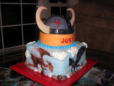 """Love """"Eden"""" Cake!: How To Train Your Dragon Cake"""