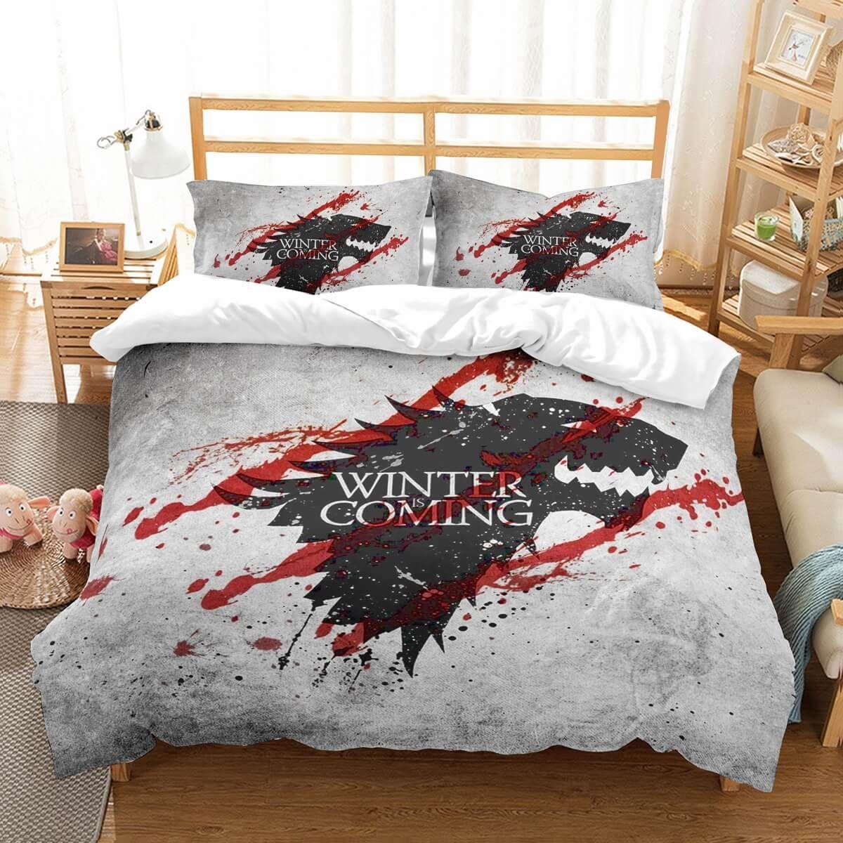3D Customize Game Of Thrones Bedding Set Duvet Cover Set Bedroom
