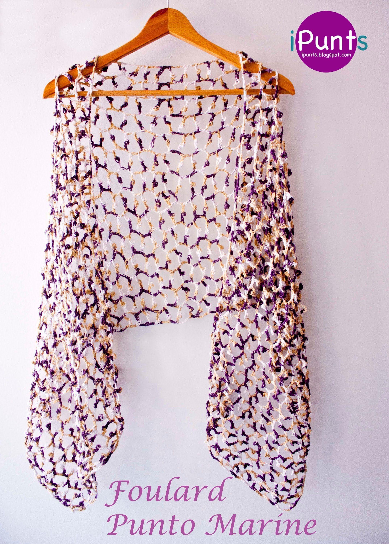 En este videotutorial os enseñamos paso a paso cómo se hace el punto marine a ganchillo y a confeccionar un foulard. Encontrarás más patrones gratis en nuest...