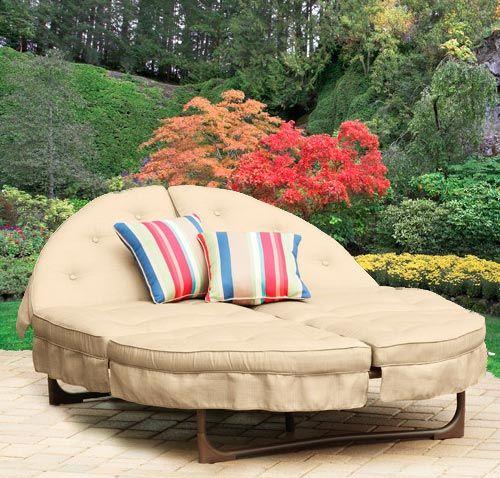 Round Orbit Lounger Cushions