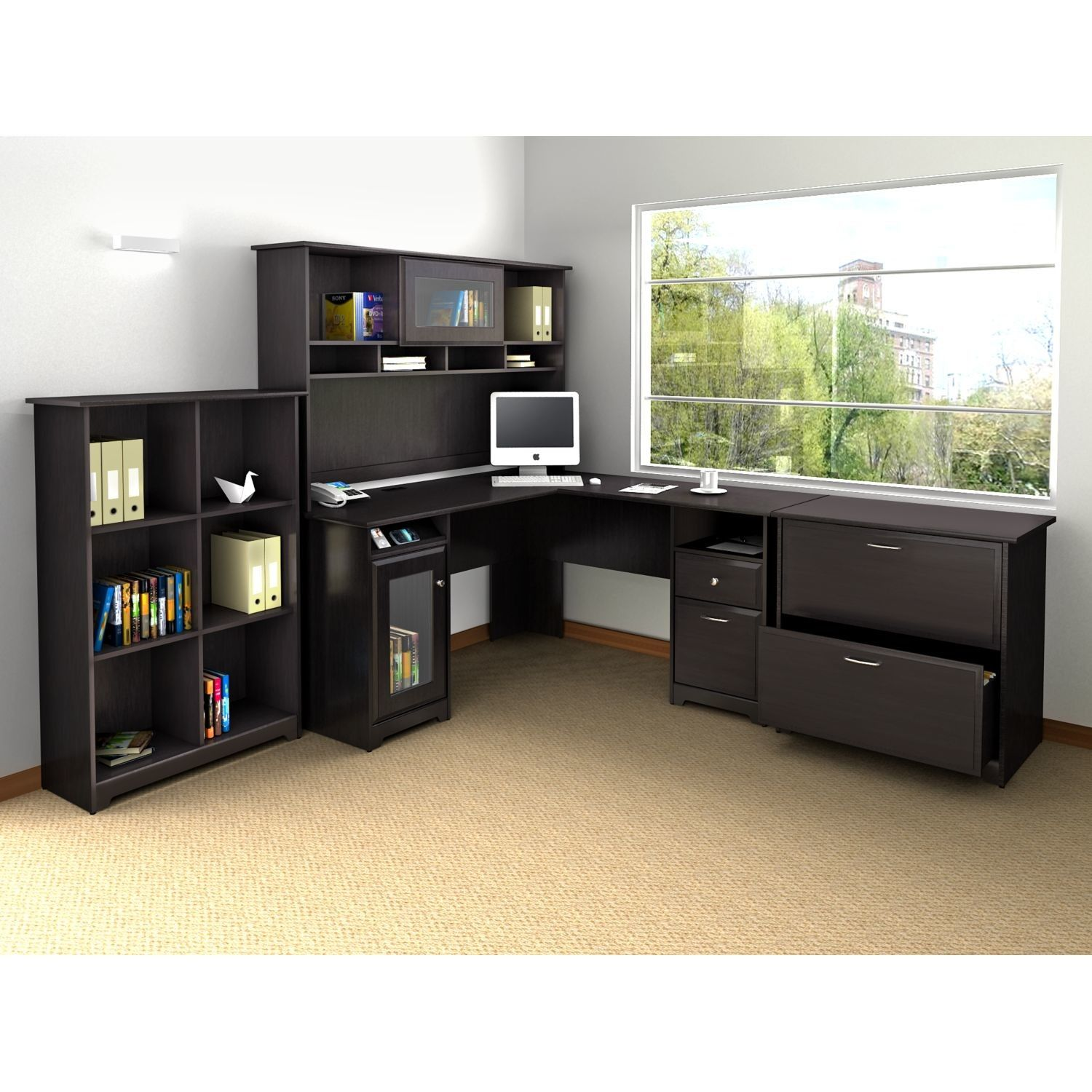 ideas optional home furniture walmart com hutch desk corner bush l with interesting fascinating office cabot shaped best