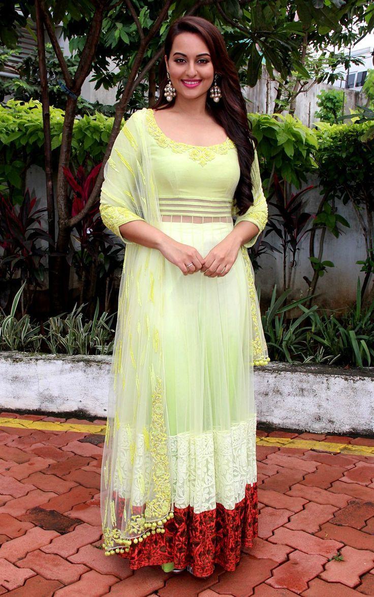 Sonakshi Beautiful sinha salwar kameez dresses forecasting dress for autumn in 2019