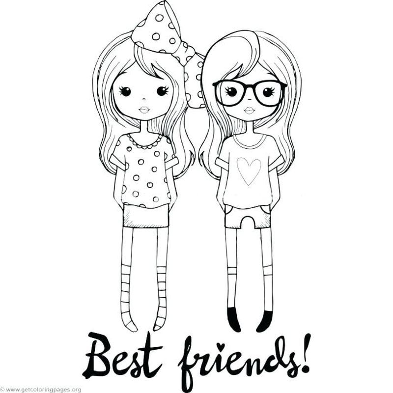 Best Friend Coloring Page Print Free Coloring Pages Bear Coloring Pages Heart Coloring Pages