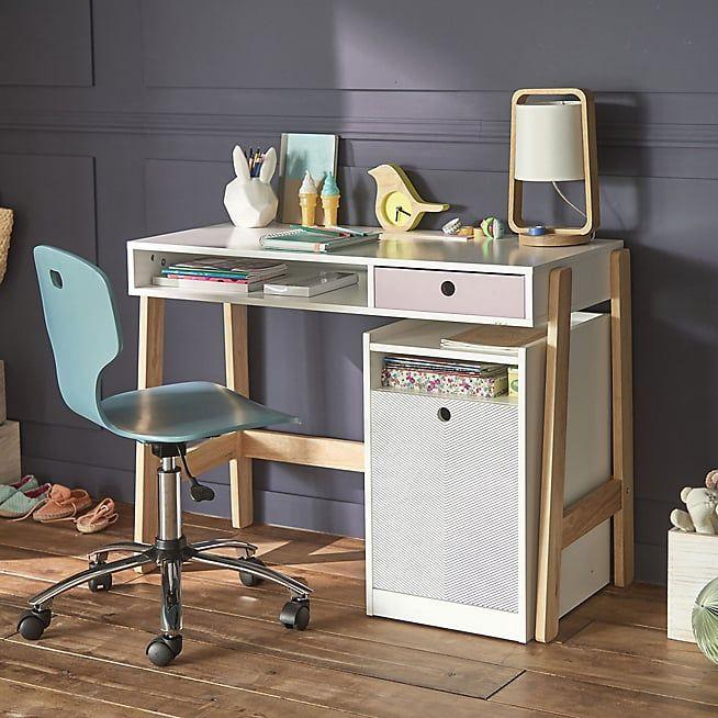 Optic Bureau Enfant Avec Caisson Sur Roulettes Chaise Bureau Enfant Bureau Enfant Chaise Bureau