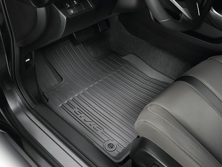 Awesome Great Genuine Oem Honda 08p17 Tbg 300a All Season Floor Mats For 2016 2018 Civic Coupe 2017 2018