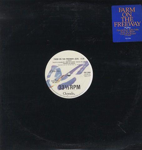 Jethro Tull Farm On The Freeway Us Promo 12 Vinyl Single 12 Inch Record Maxi Single 79169 Rare Vinyl Records Vintage Vinyl Records Vinyl
