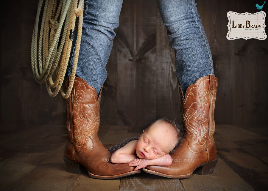 Sisters little wrangler cowboy boots newborn sibling western