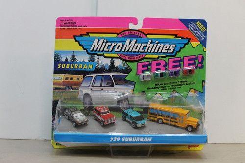 Micro Machines #39 Suburban with FREE! Minis