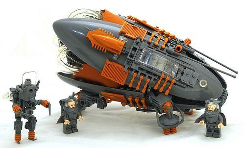 """Exploration Vessel"" by Bart De Dobbelear | #LEGO #Space"
