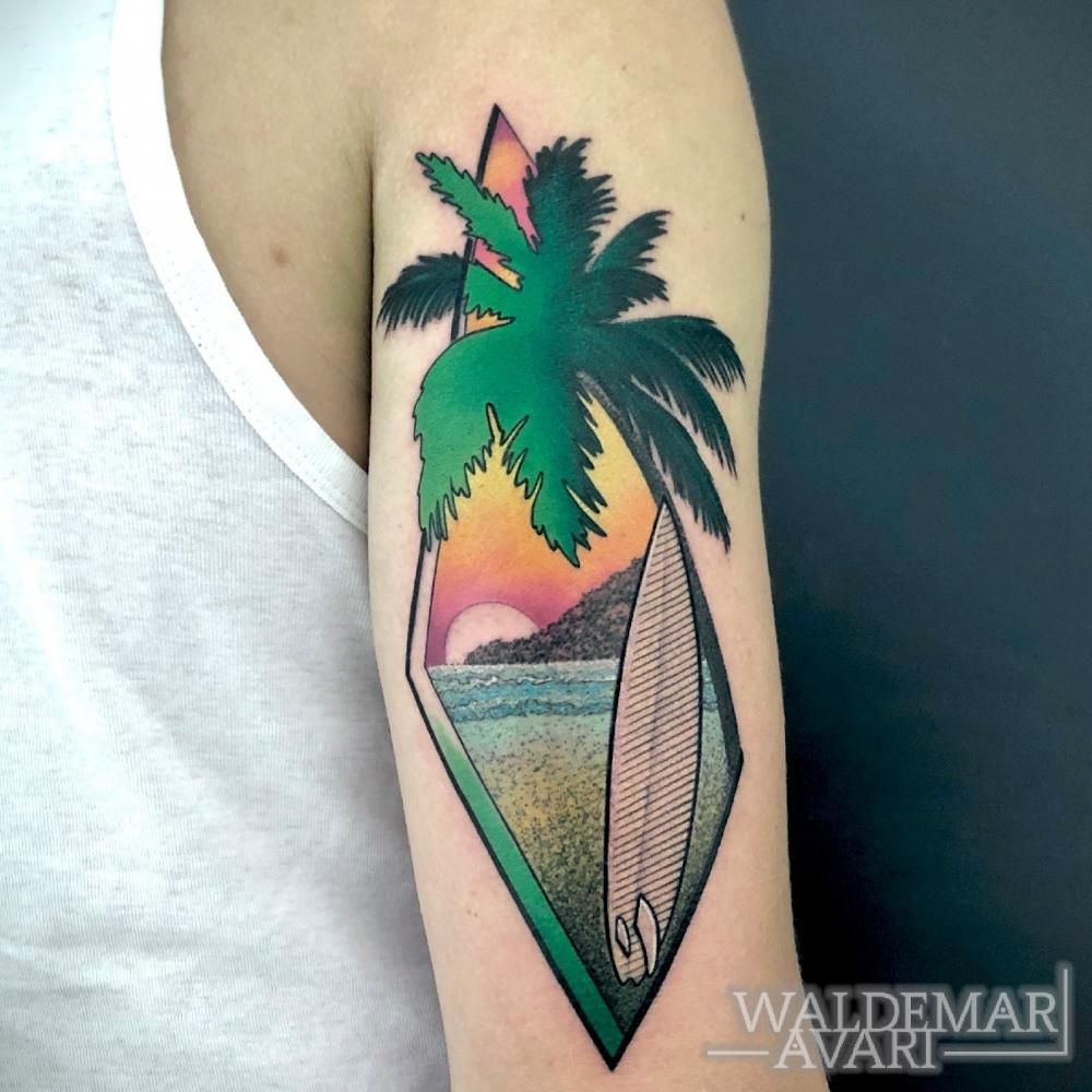 WALDEMAR AVARI Tattoo is the tattoo of ocean themed is for the lover of ocean #FloralTattooIdeas #TattooIdeas #BeautifulTattoos #TattooLove #FloralTattoo #FloralTattooForGuy's #TattooIdeas #TattooAwards