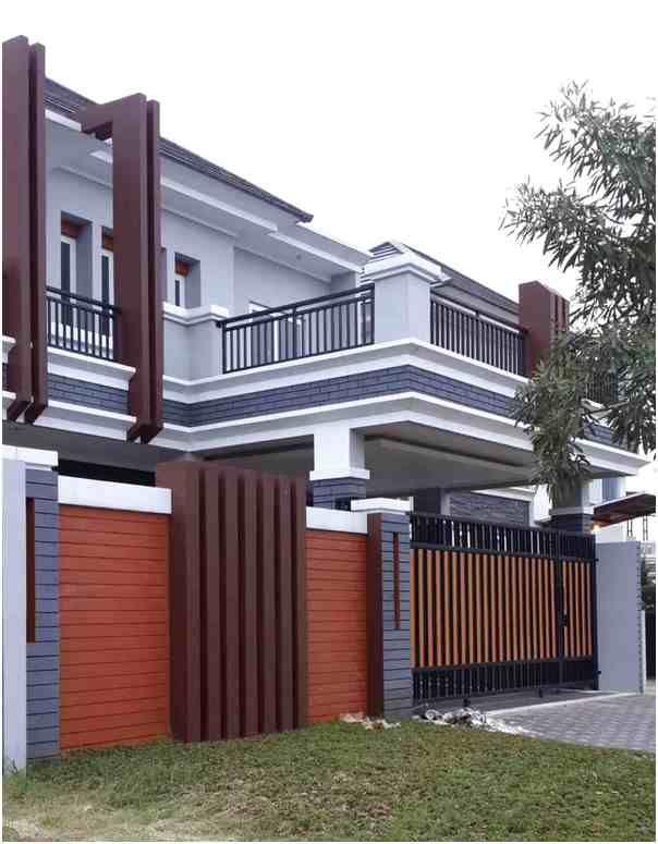 Konsep Desain Pagar Rumah Minimalis Mewah Klasik Terbaru Rumah Tiang Rumah Mewah Desain