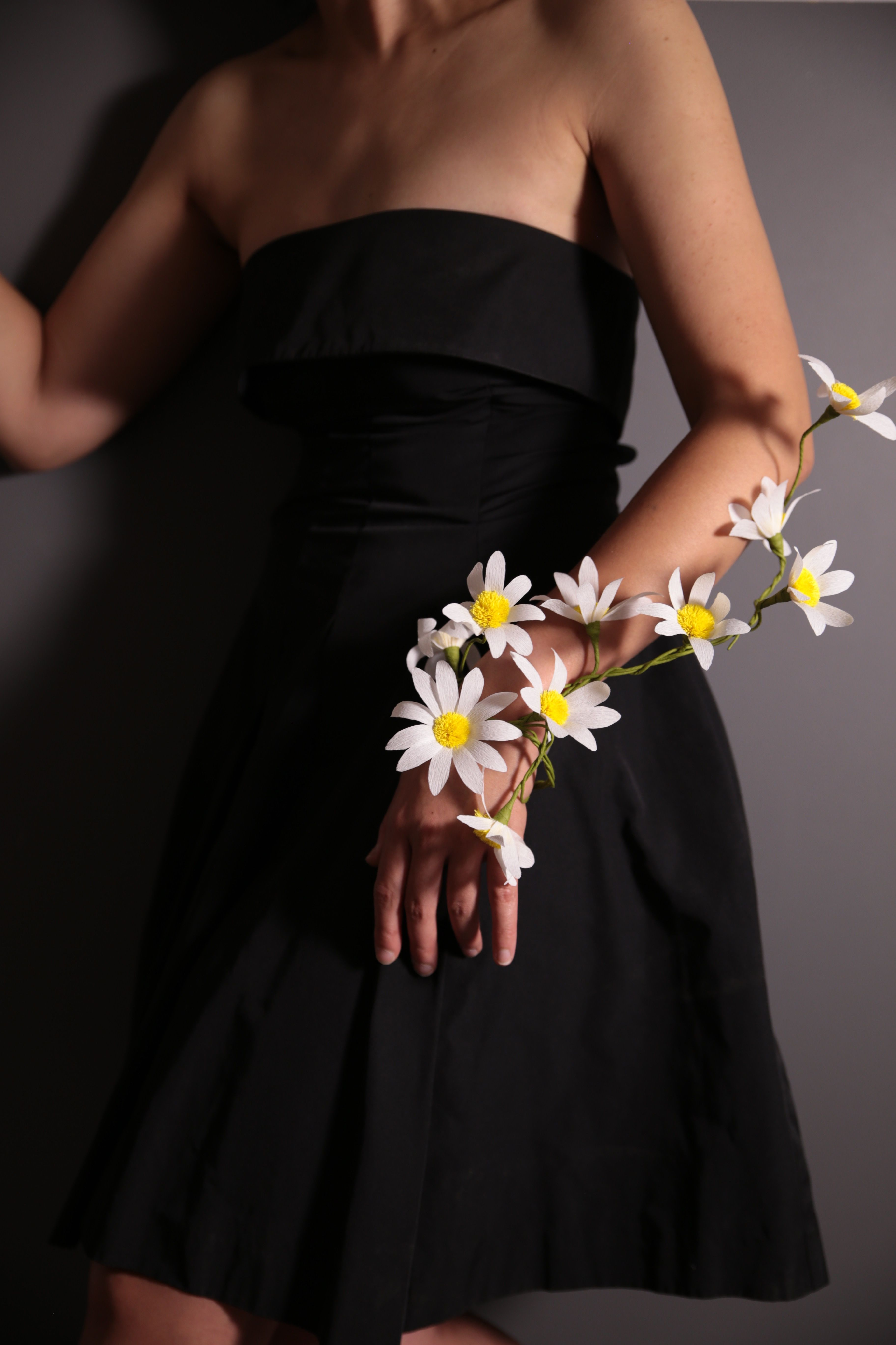 Crepe Paper Flower Corsage Styling And Photography By Jennifer Tran