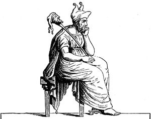 Momus Was The God Of Satire Mockery And Poets In Greek Mythology