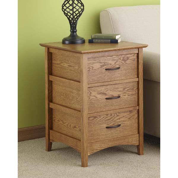 Sideless Side Table Woodworking Plan from WOOD Magazine