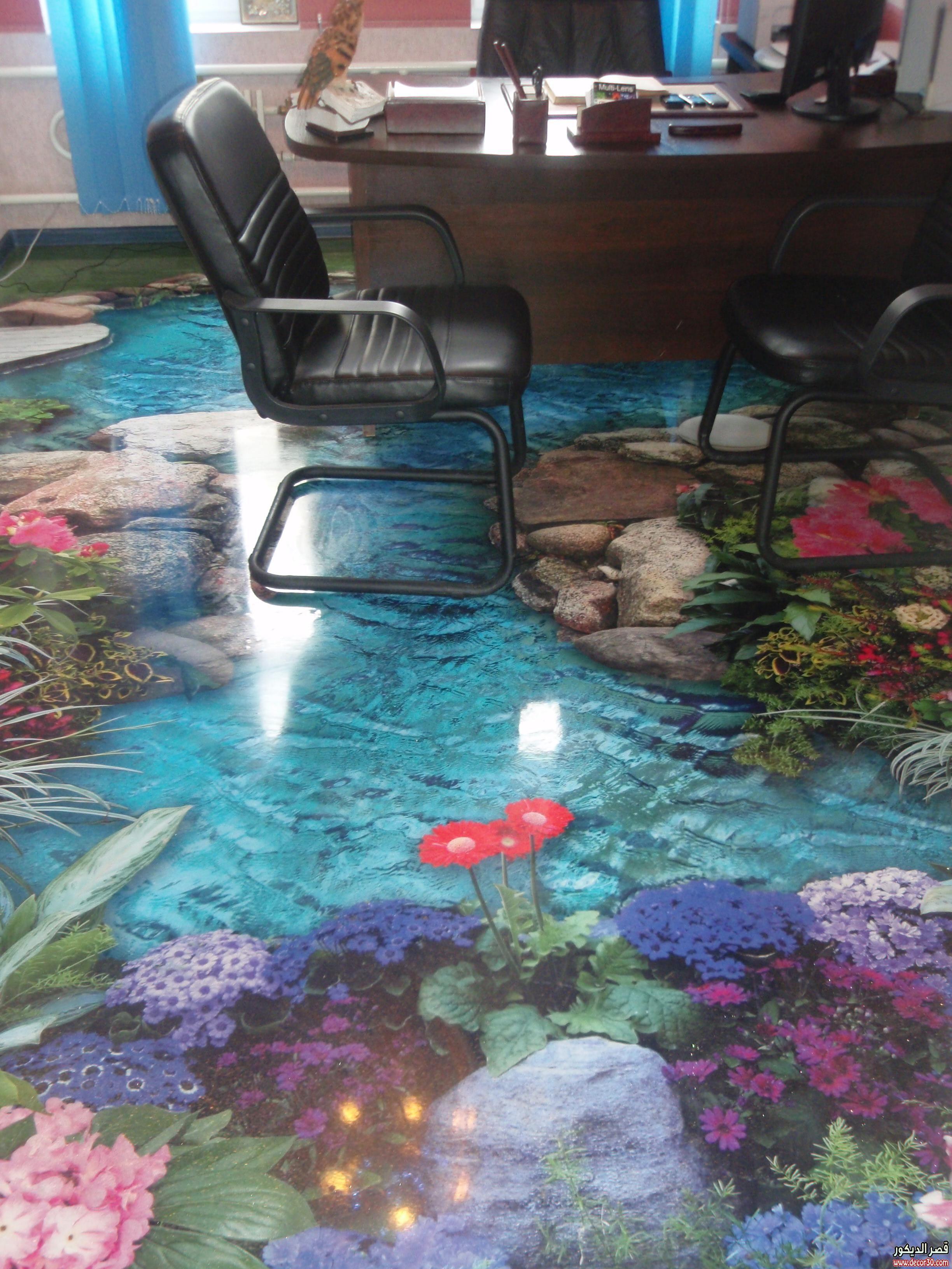 اجمل اشكال ارضيات مجسمة Sree De Flooring Designs Splendor Floor Murals 3d Floor Art 3d Flooring
