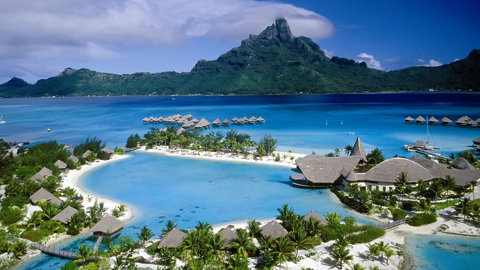 Hd wallpaper beach - French Polynesiap High Definition Beach Wallpapers