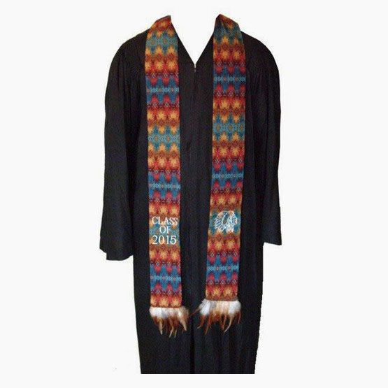 Personalized Native American Stole Native Graduation