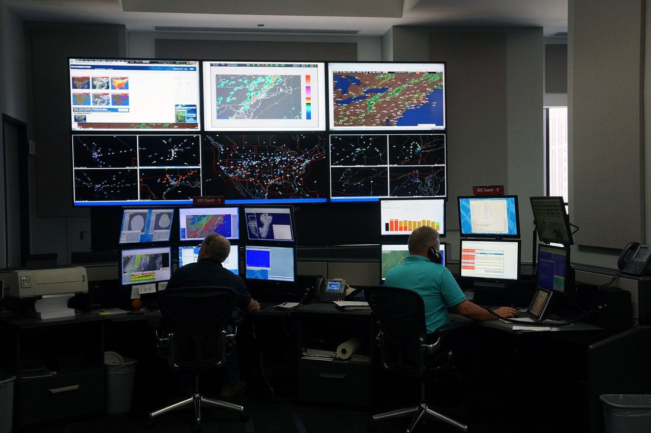 United Airlines Network Operations Center Chicago