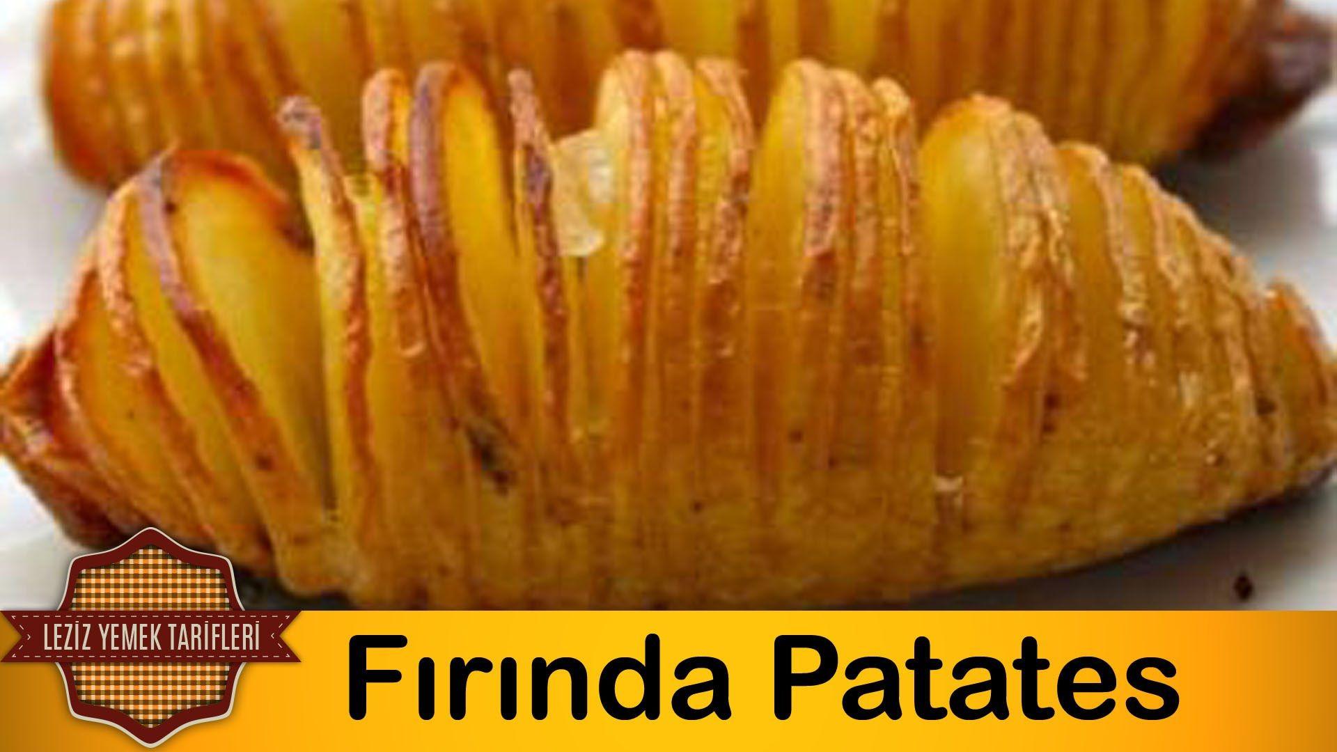 Fırında Patates Kızartması Videosu