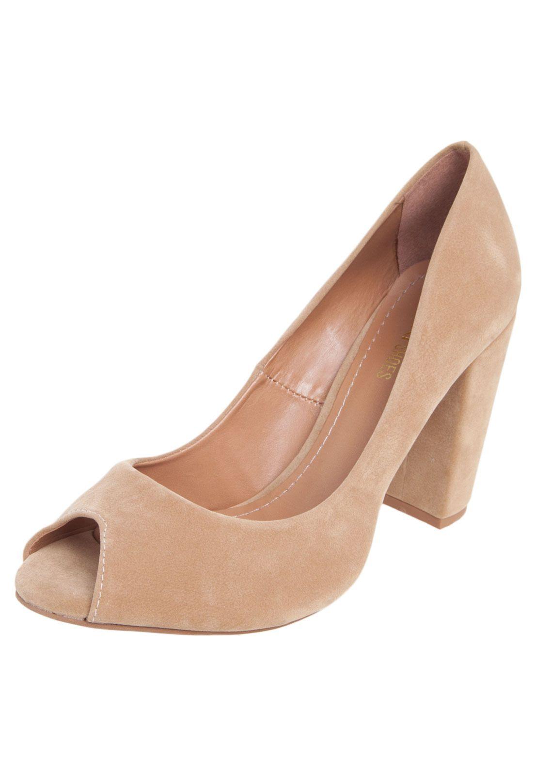 696b8573d Peep Toe DAFITI SHOES Bege   Shoes   Pinterest   Moda evangelica ...