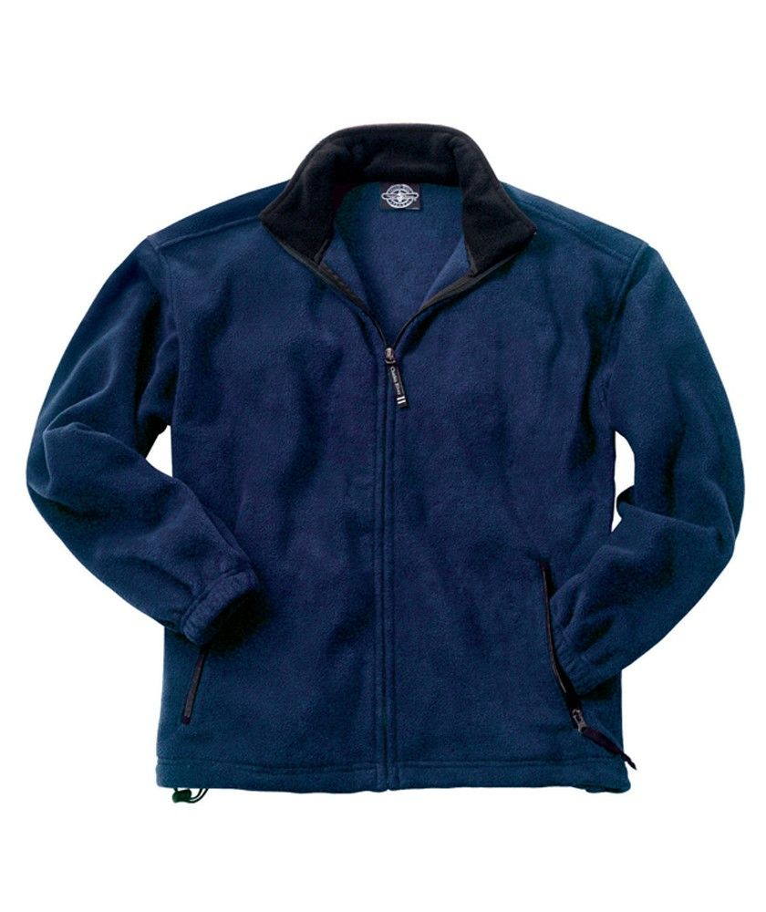 Buy the charles river apparel menus voyager fleece jacket from