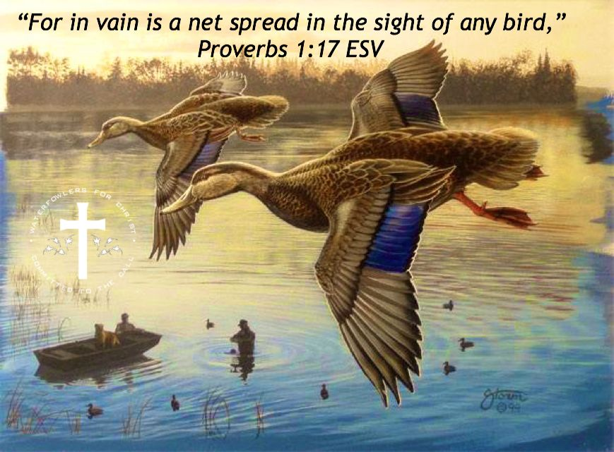 Bible verse waterfowlers for christ pinterest for Fishing in the bible