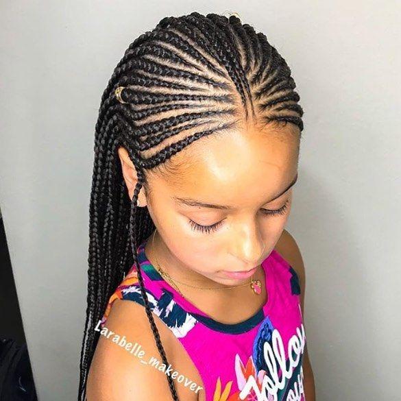 Follow Nigerianhairstyles Larabelle Makeover For More Bellanaijaweddings Fro Naturalist Hair Styles Black Kids Hairstyles Lil Girl Hairstyles