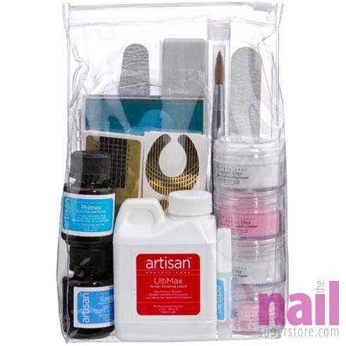 Artisan Acrylic Nail Kit | 15 pcs Professional Acrylic Nail Powder ...