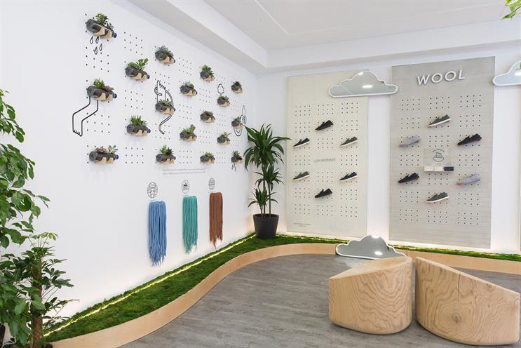 Allbirds: Covent Garden store