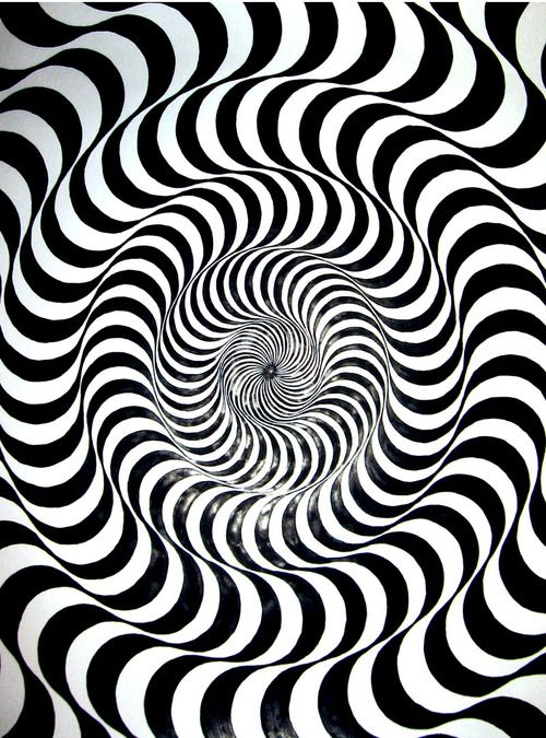 Fission | Optical illusions, Op art and Bridget riley